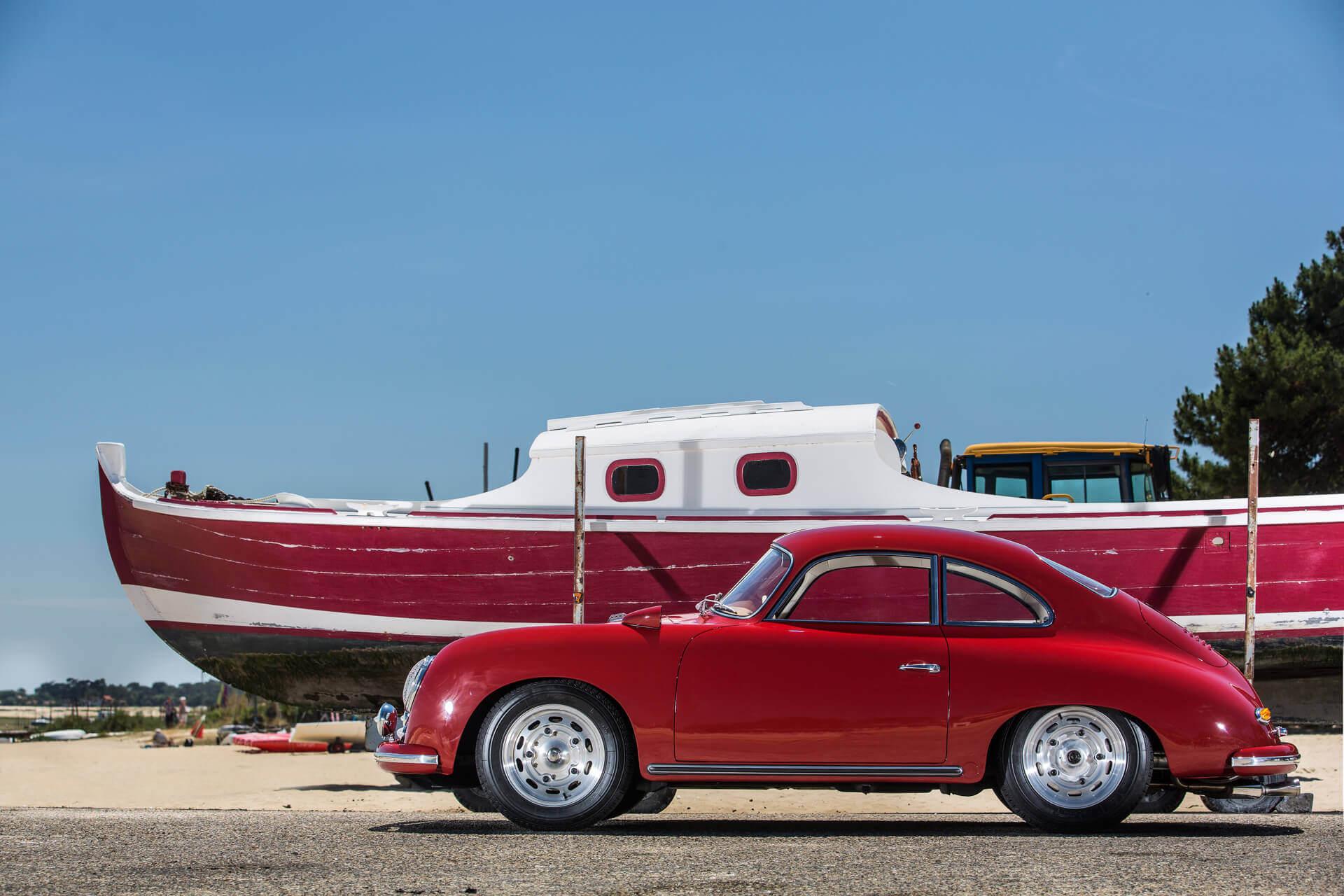 Porsche Heitz 356 AT2 GT corail