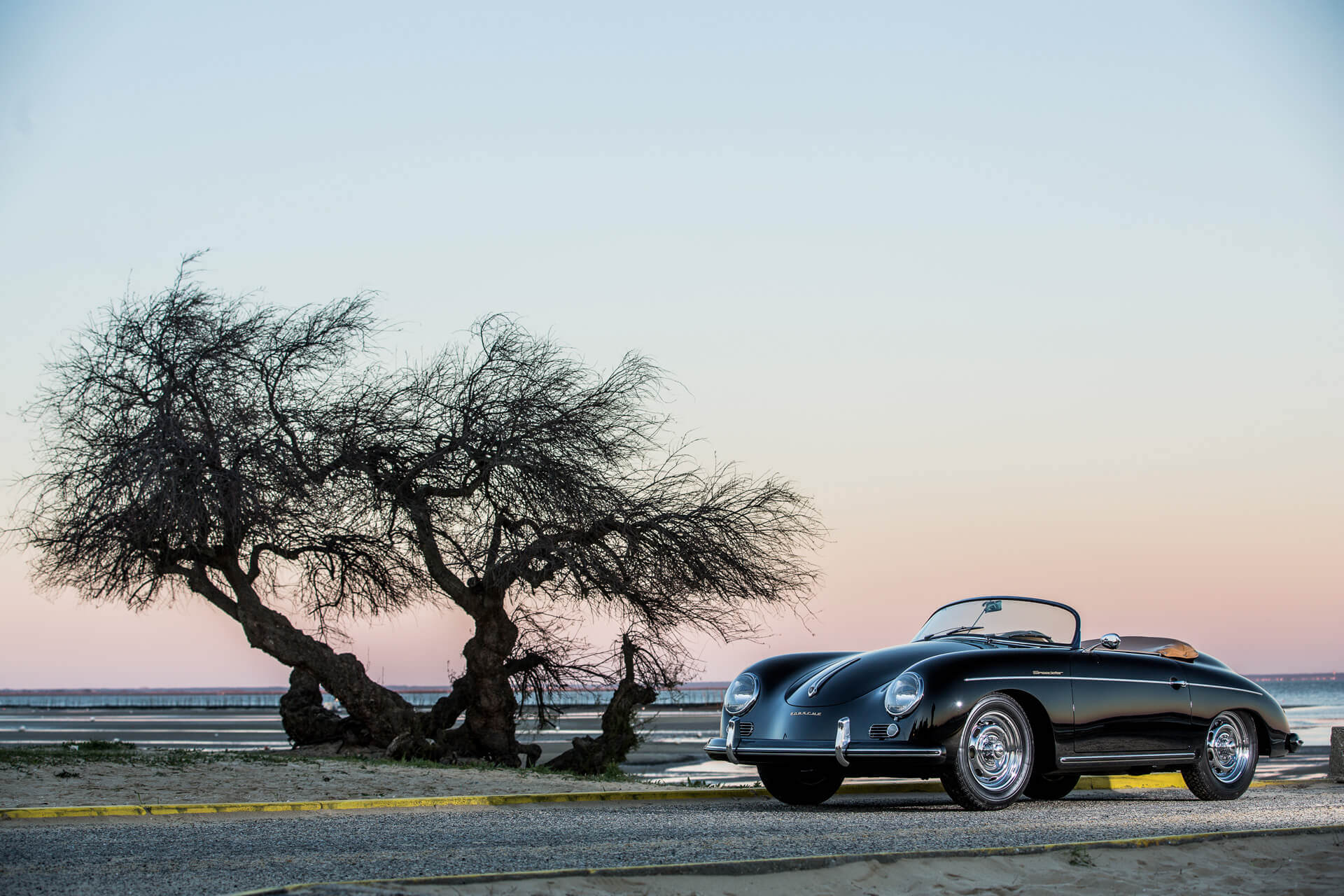 Porsche Heitz speedster noir