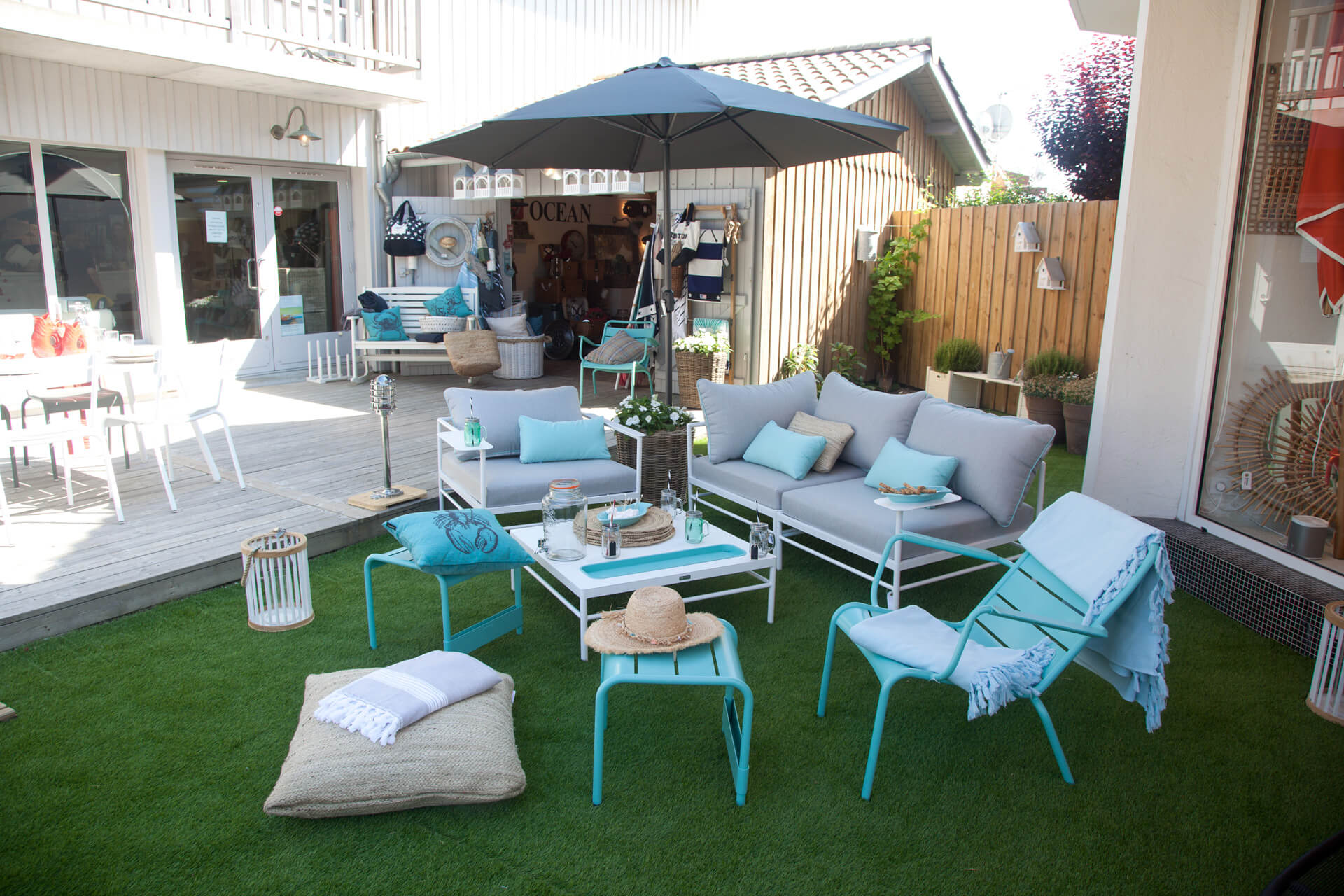 Ambiance jardin, du cosy à l'extérieur !