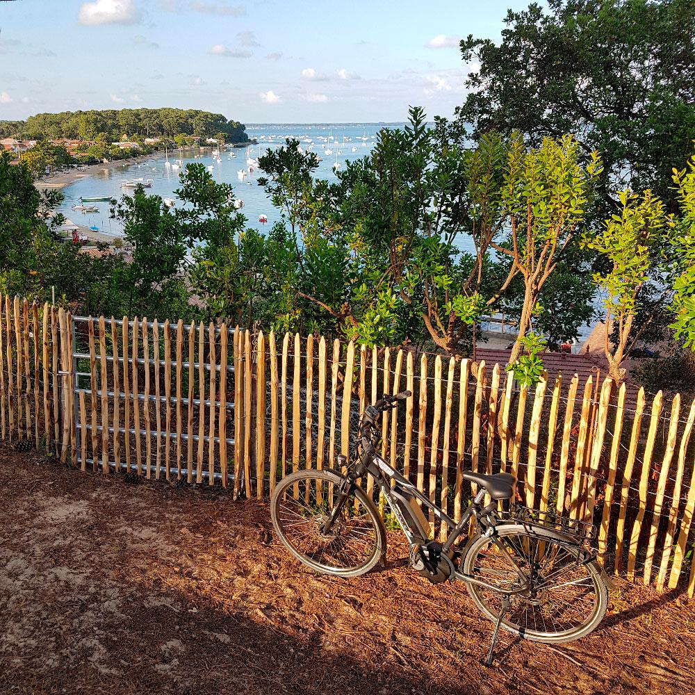 Partez à la découverte de la presqu'île en vélo électrique