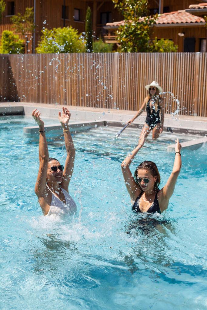 Domaine Ferret relaxation piscine soins