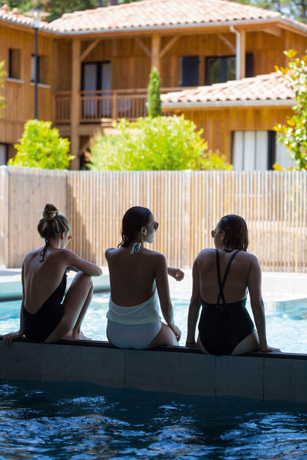 Domaine Ferret thalasso piscine exterieure