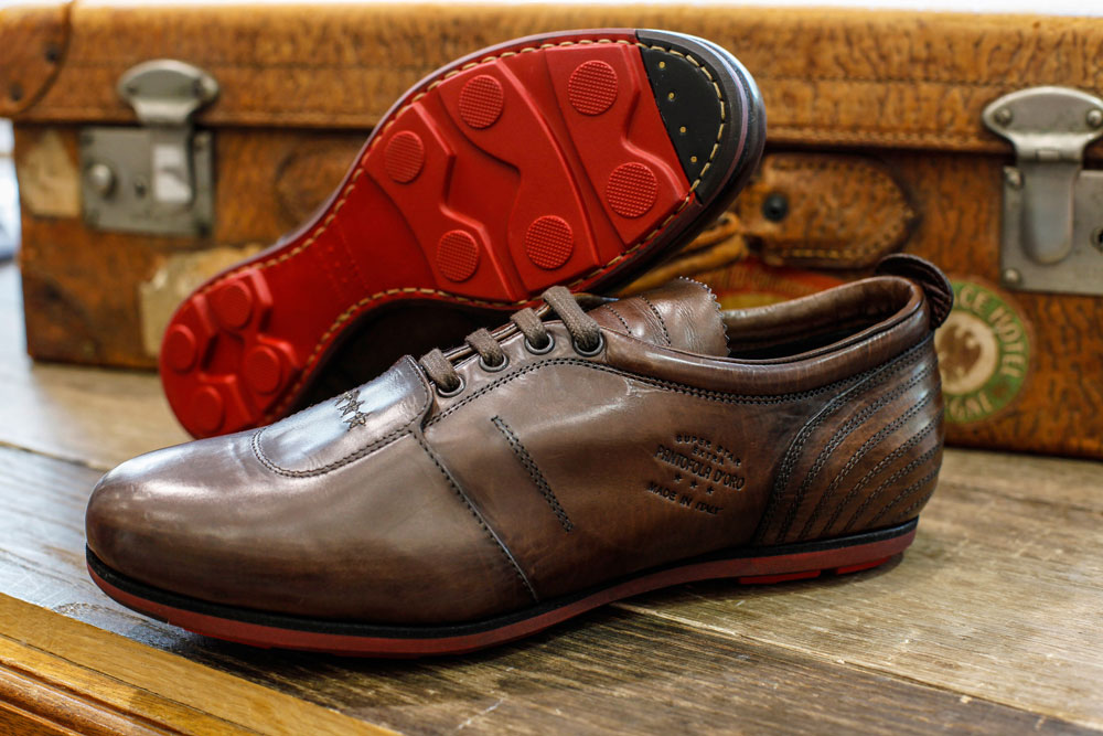 First moulleau mode chic luxe chaussures pantofola doro