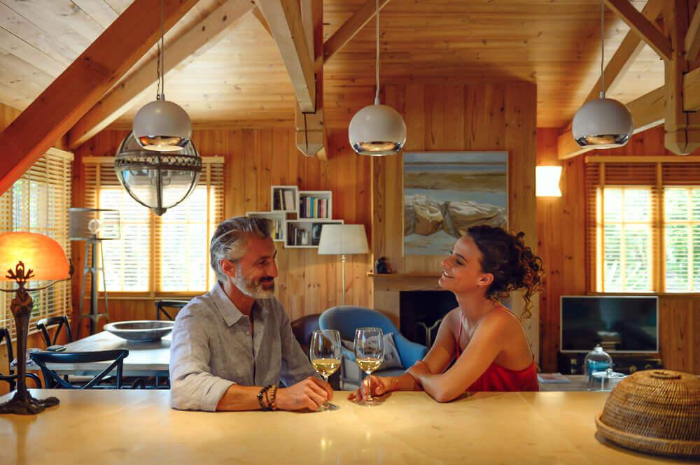 Jane maisons bois luxe Cap Ferret