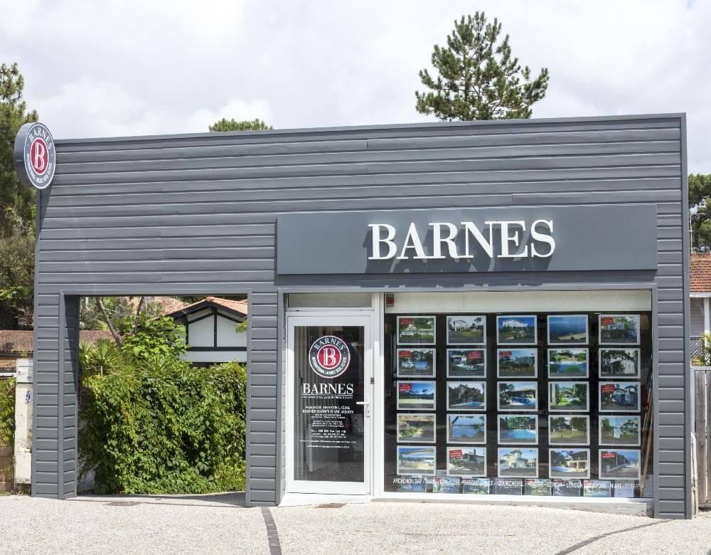 Barnes agence moulleau