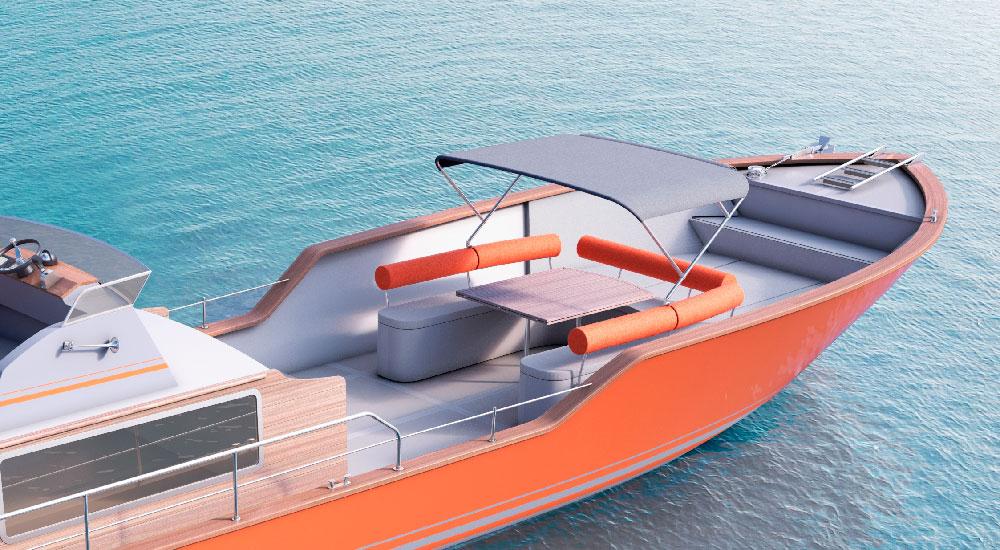 Playa, constructeur de bateau sur mesure