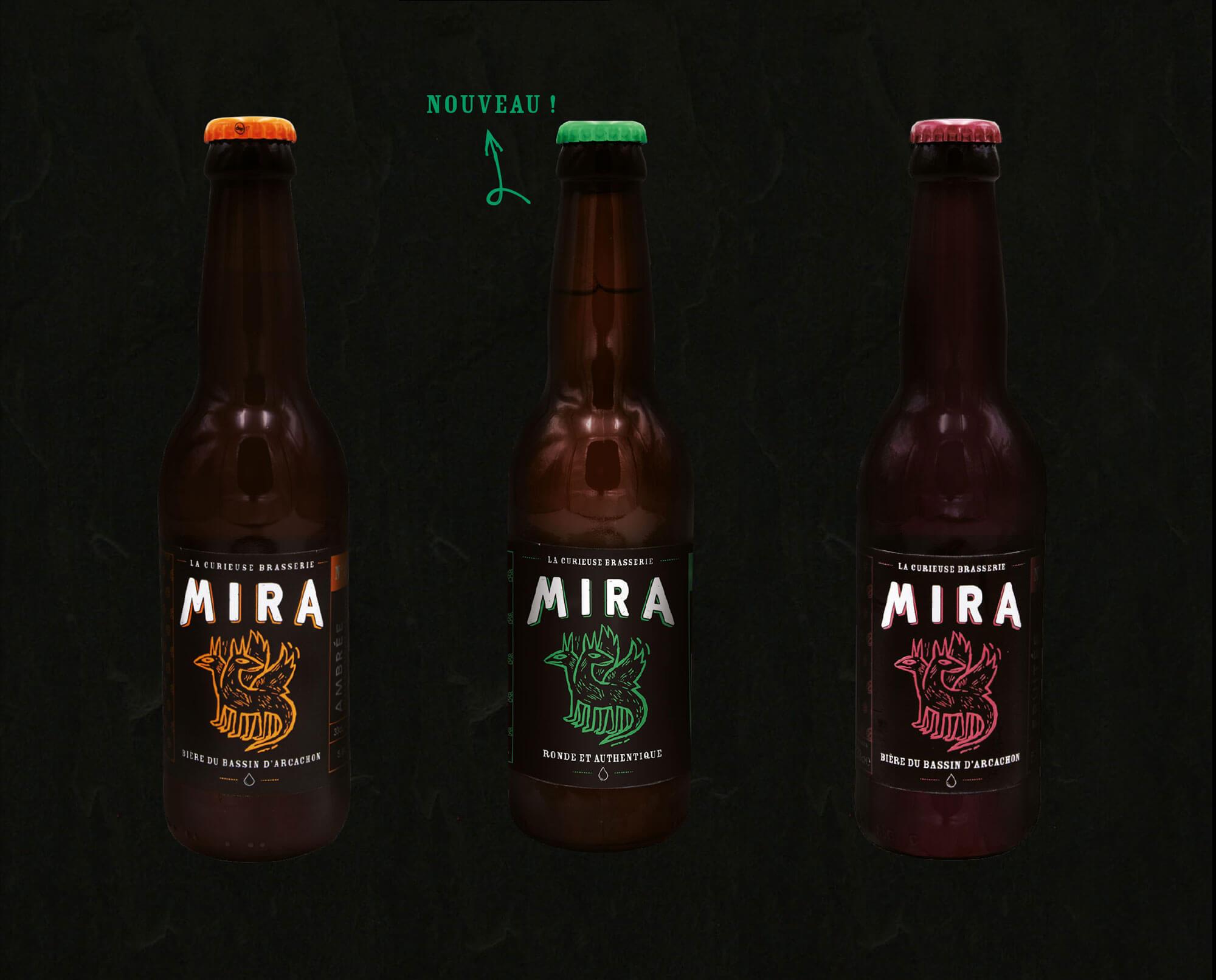 Les bières Mira Summer 2017