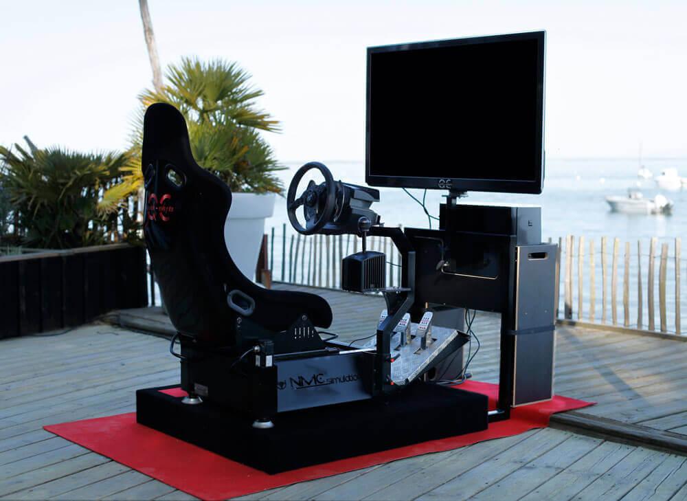 quick event cockpit jeu video pilotage dynamique professionnel domicile