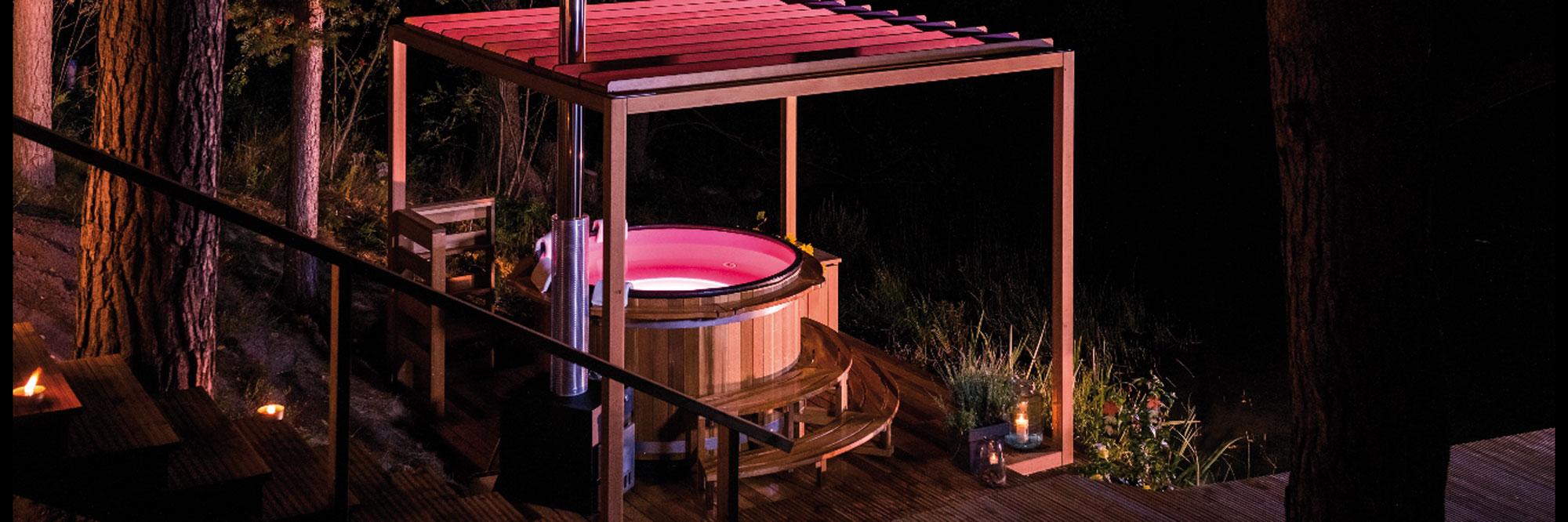 L\'Atelier des bains, scandinave hot-tubs dans le jardin - Tendance ...
