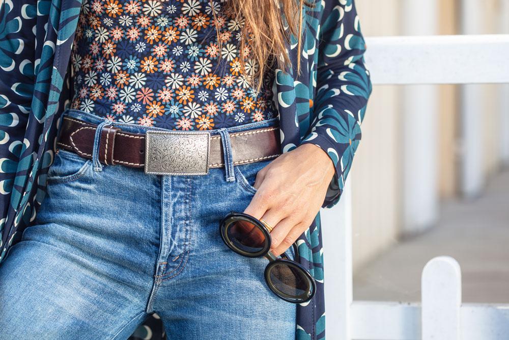 sac-style-folie-douce-tenue-ootd-style-vetements-chic-lunettes-glasses-bleu-jeans-tendance-boutique-cap-ferret-bassin-arcachon