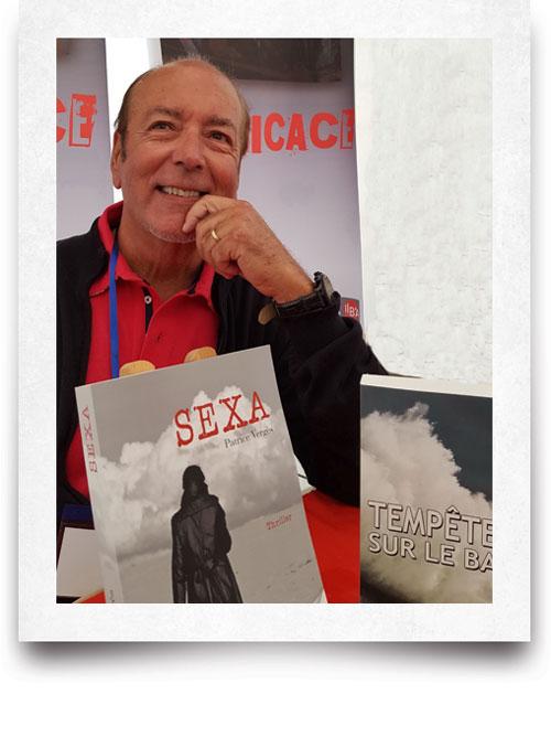 Patrice Vergès Bassin d'Arcachon Cap Ferret Auteur littérature livres roman thriller romancier journaliste Bordeaux