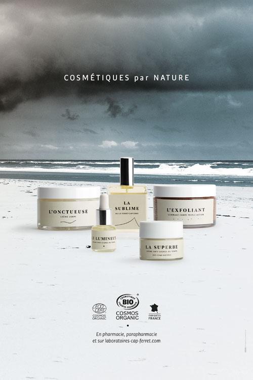 produits cosmetiques bio haut gamme huile crème anti signes laboratoires cap ferret