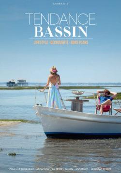 couverture du magazine Tendance Bassin - Numéro Summer 2015