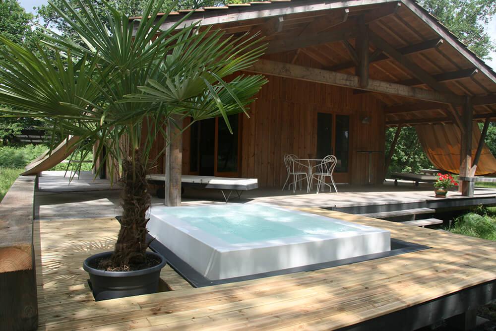 Spa d bordement tendance bassin - Location spa a domicile ...