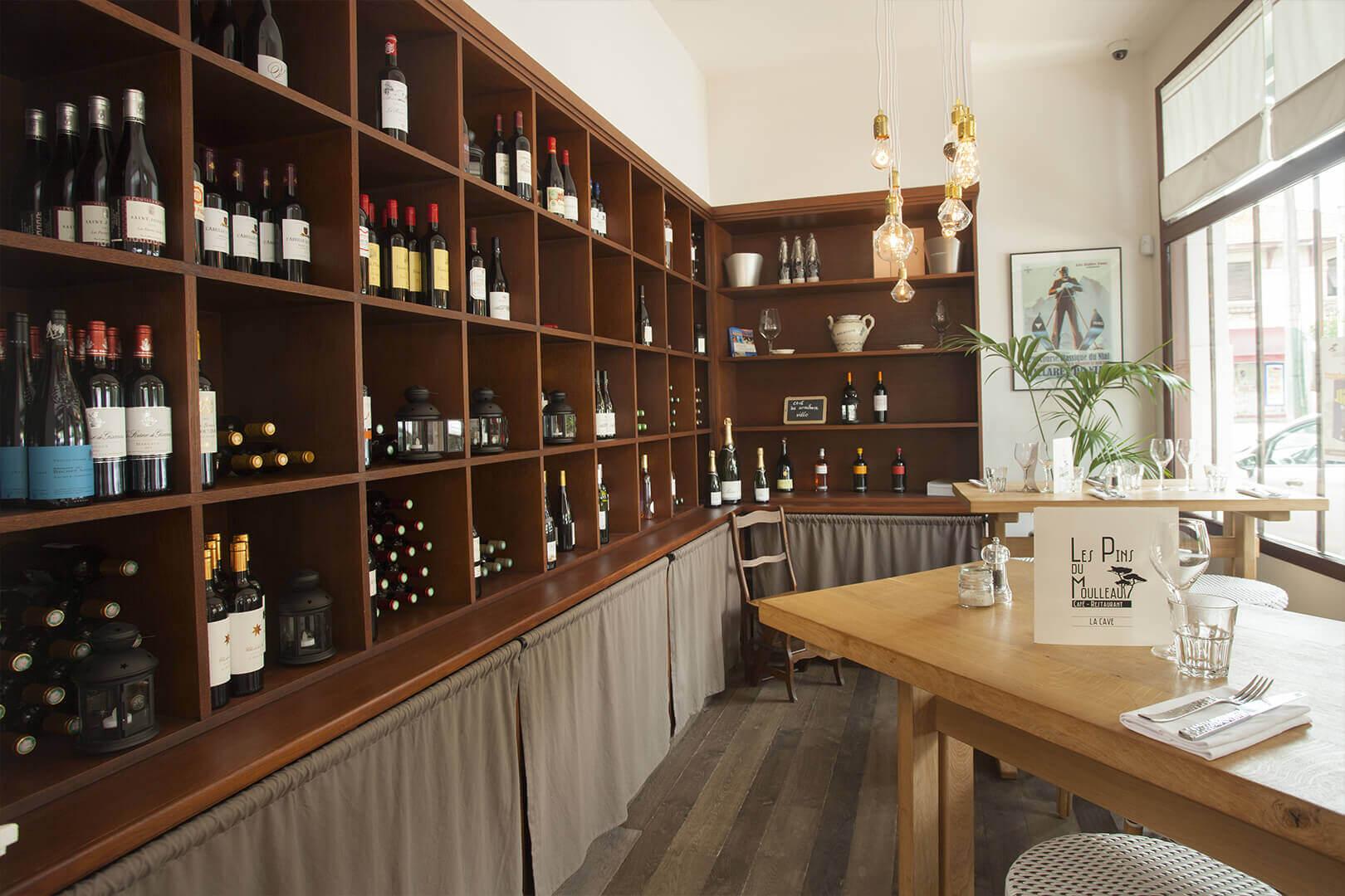 vins millésimes restaurants belle cave pins moulleau
