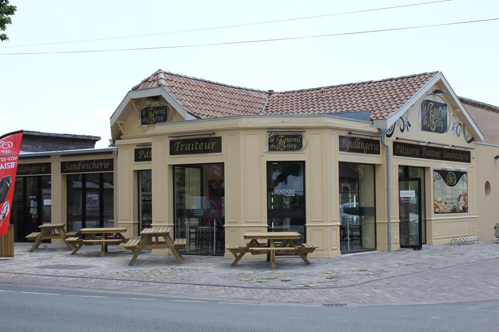 Ancienne facade Boulangerie Betey Andernos