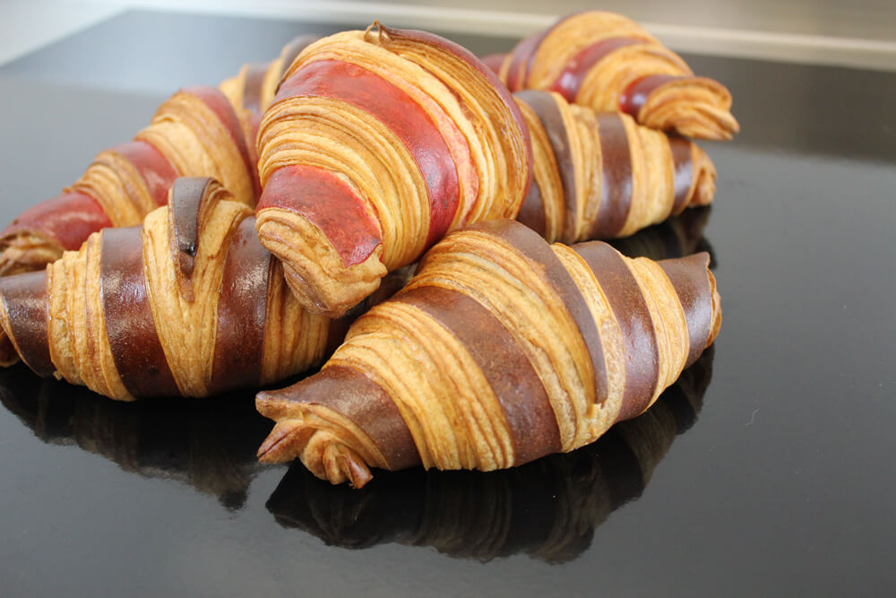 Croissants Betey fabrication artisanale