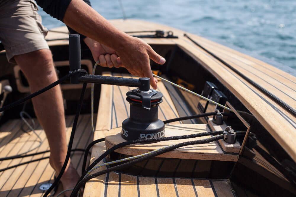 bateau cap ferret maelstrom34 voiles