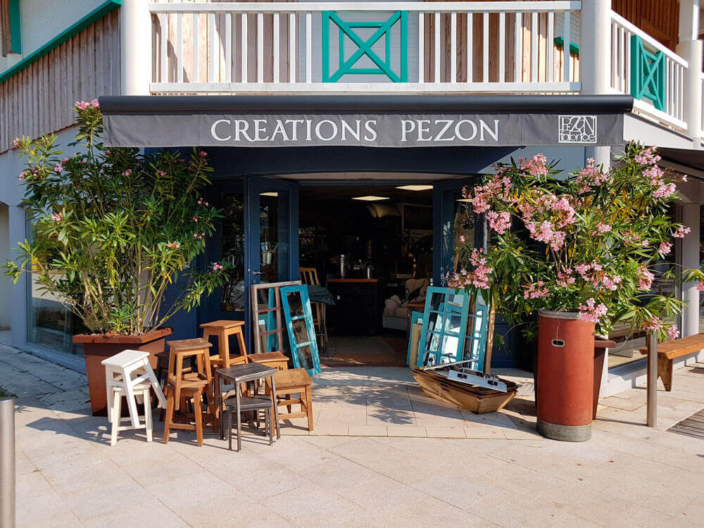 Pezon creations boutique deco cap ferret