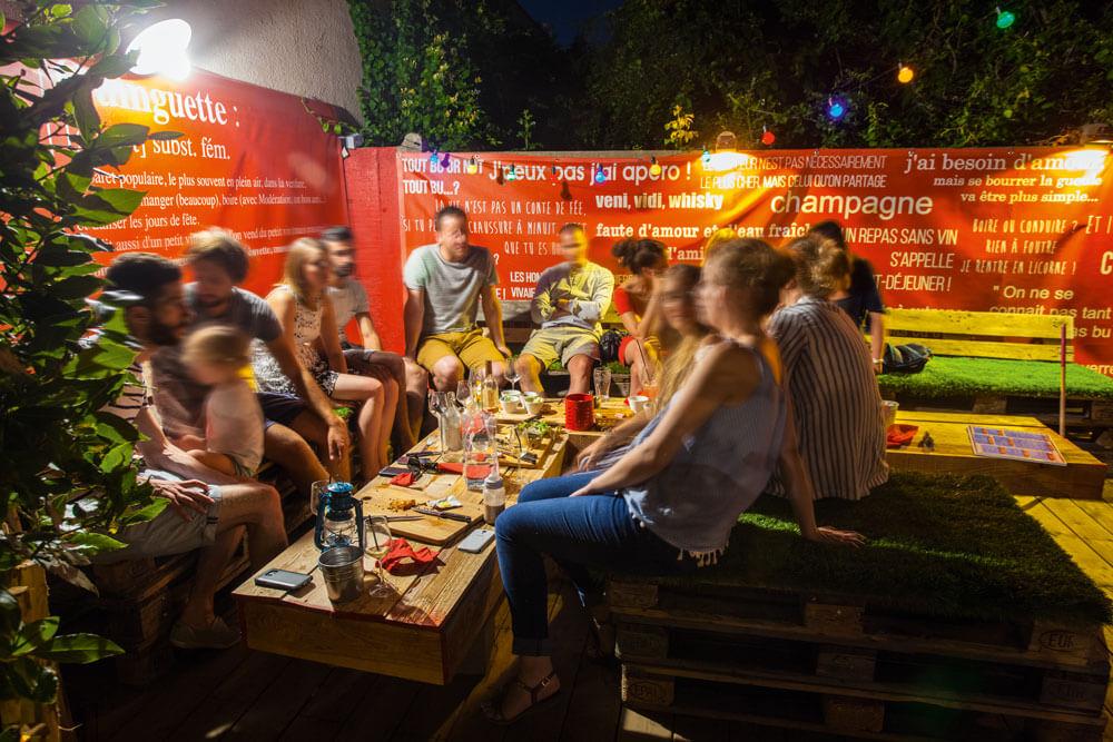 Villa nantucket bar guinguette