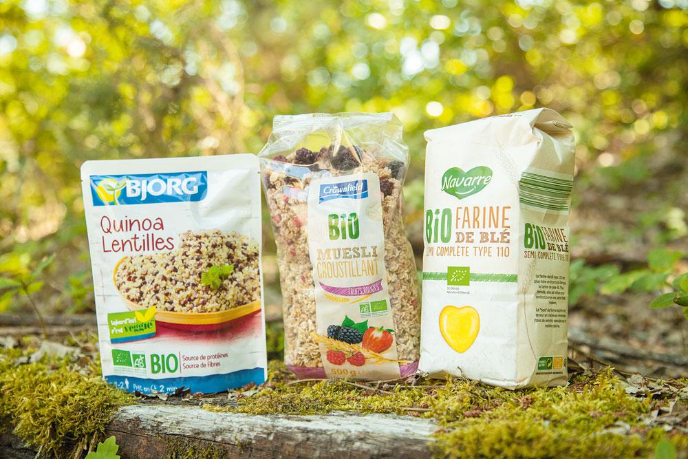Bio Linéaires Cap Ferret Bassin organic food nature écologie Lidl labels qualité alimentation agriculture biologique santé plantes quinoa sain farine céréales