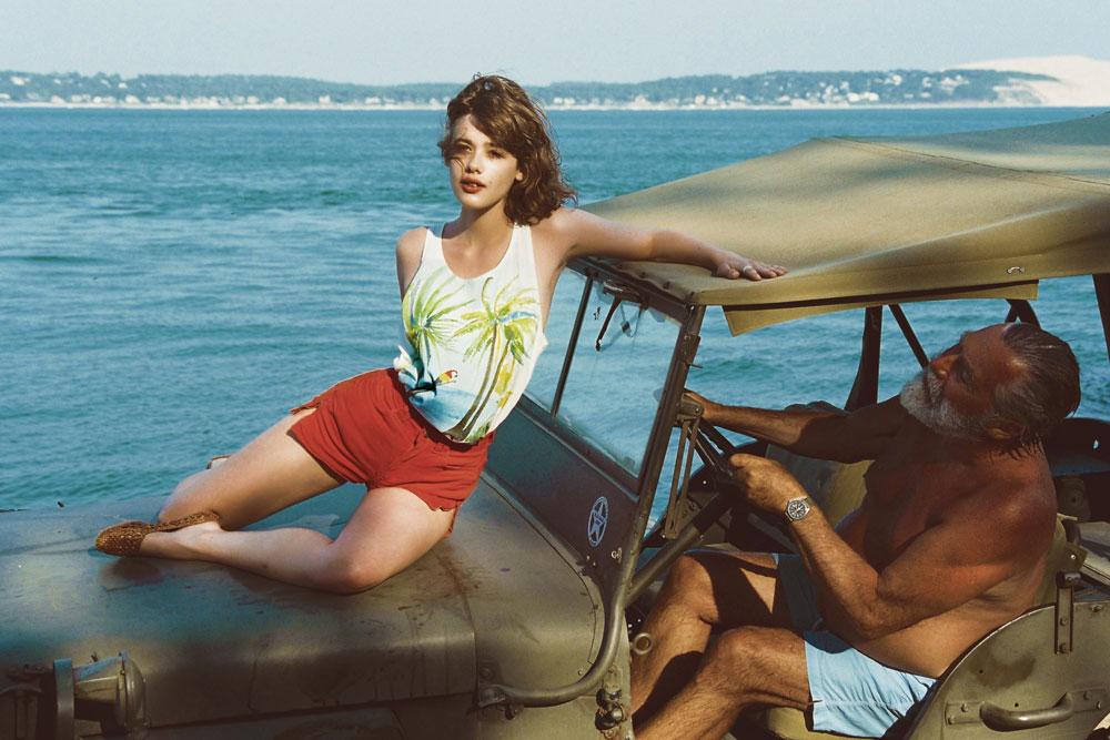 GKERO Marguerite Bartherotte Bassin Cap Ferret créatrice jeune artiste vêtement mode collection tendance peinture dessin plage cabane océan surfeur femme