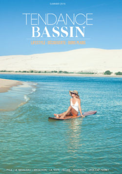 """TENDANCE BASSIN : couverture du magazine """"Summer 2018"""""""