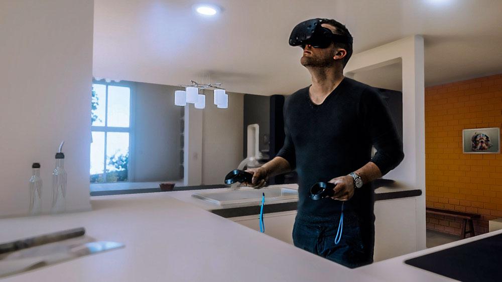 matagon casque villa réalité virtuelle visite immersive modelisation villas construction bassin arcachon