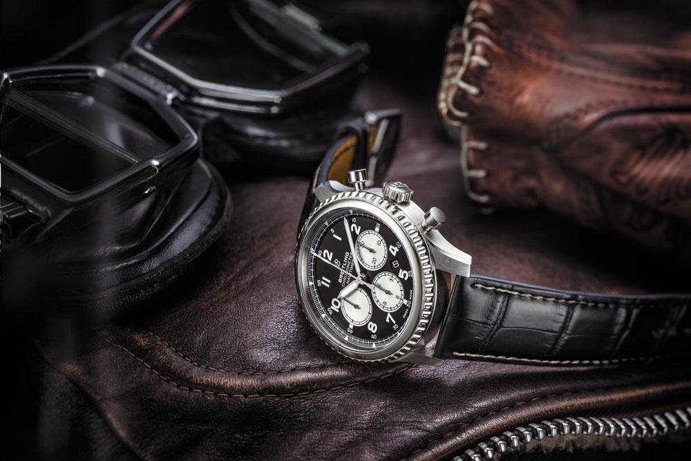 montre homme breitling chronographe édouard genton bassin arcachon cap ferret
